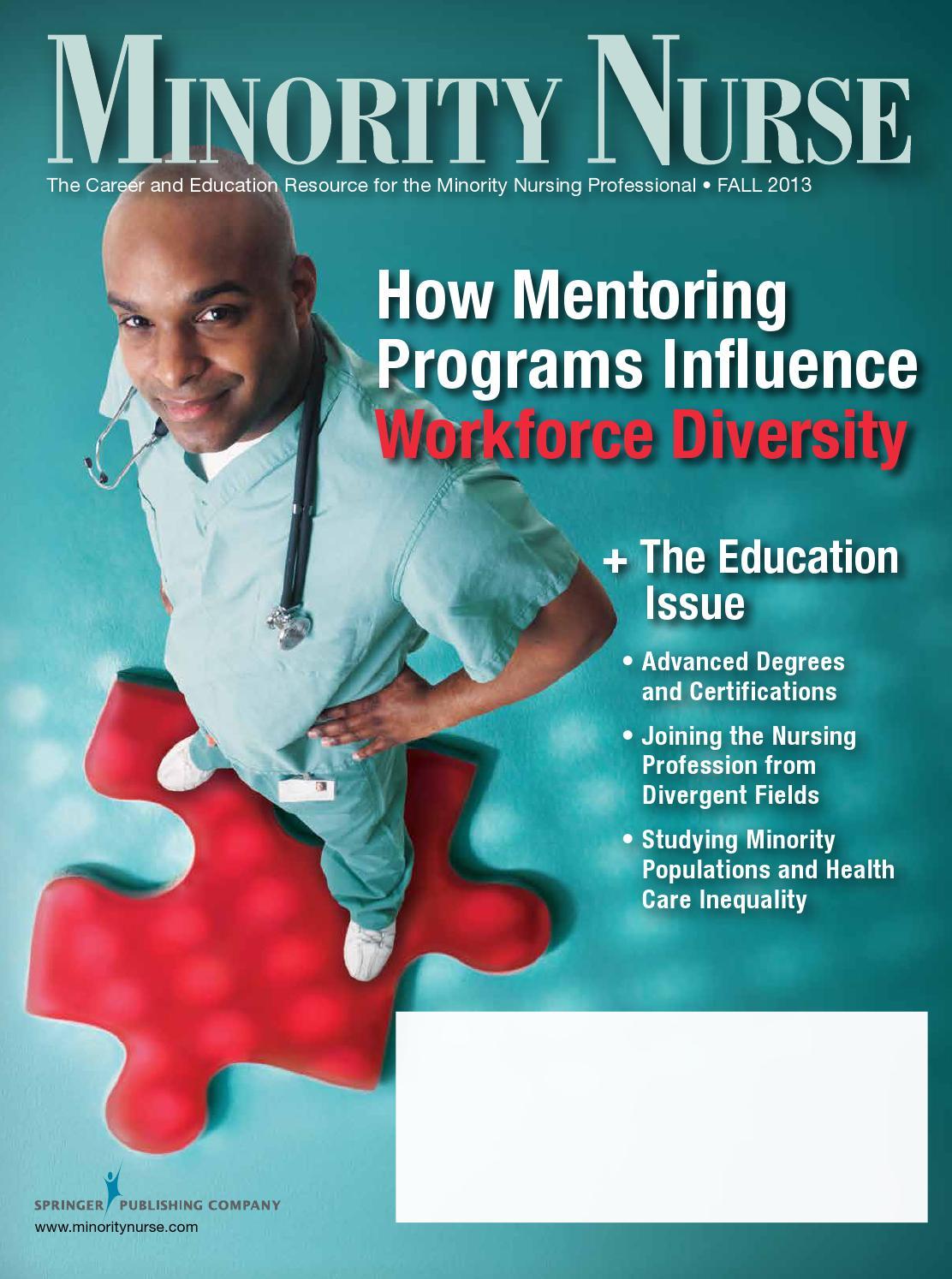 Minority Nurse Magazine Fall 2013 By Springer Publishing