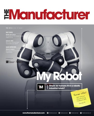 The Manufacturer February 2016