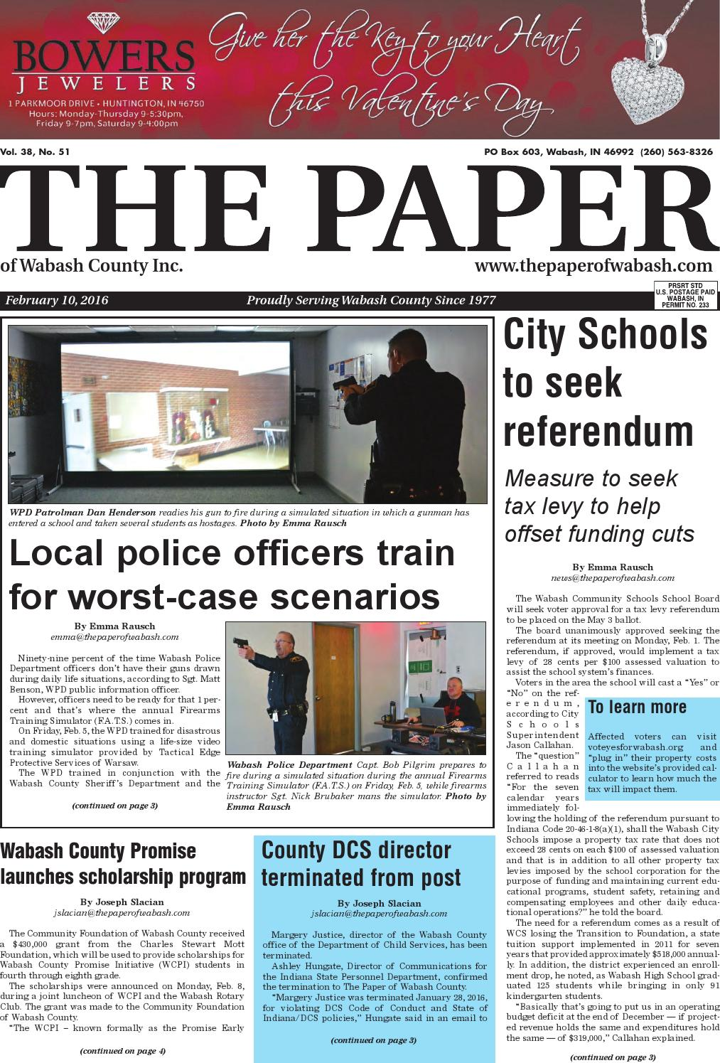 the paper of wabash county feb 10 2016 issue