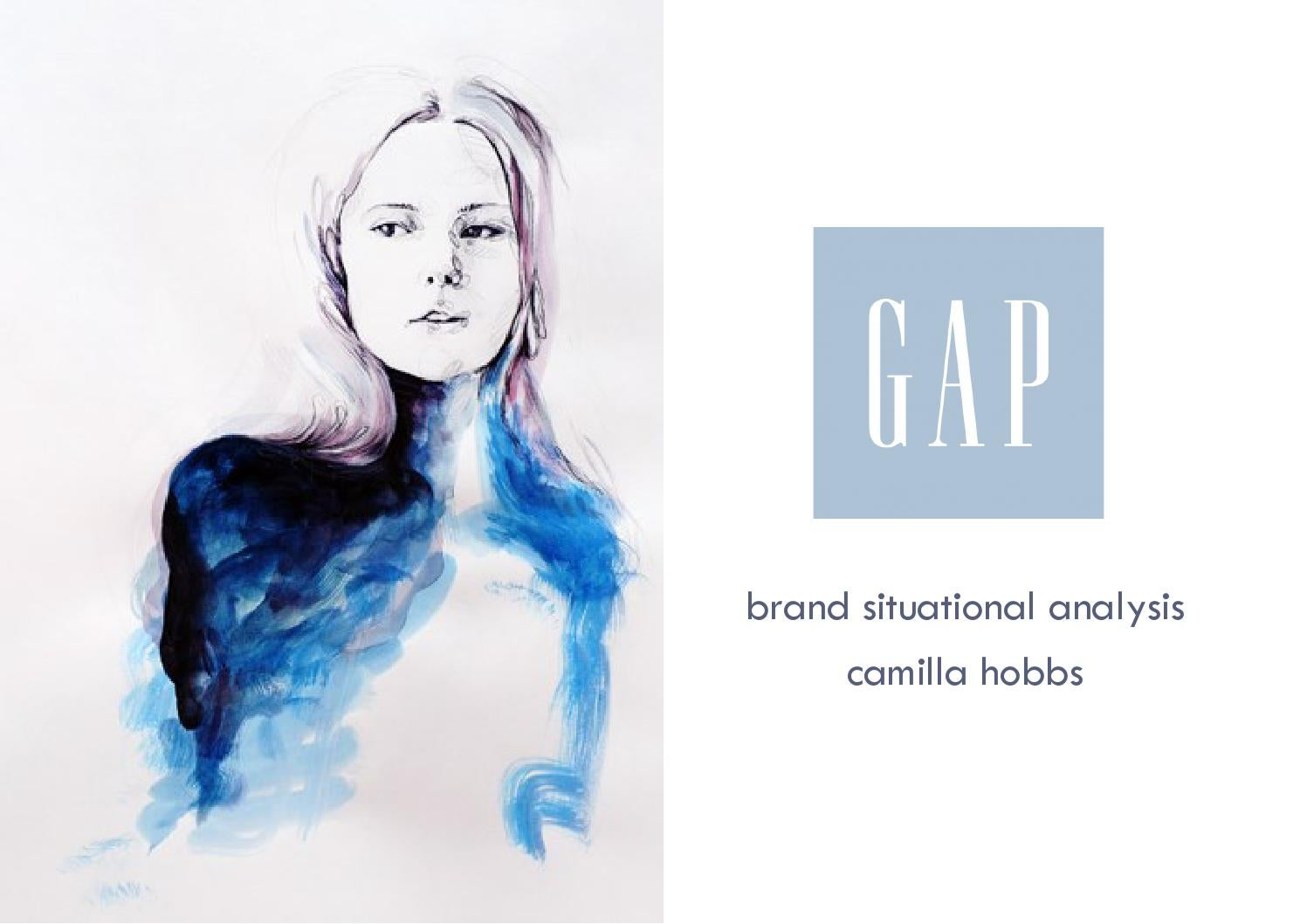 case study and business analysis of valentino and simone rocha in gap brand situational analysis