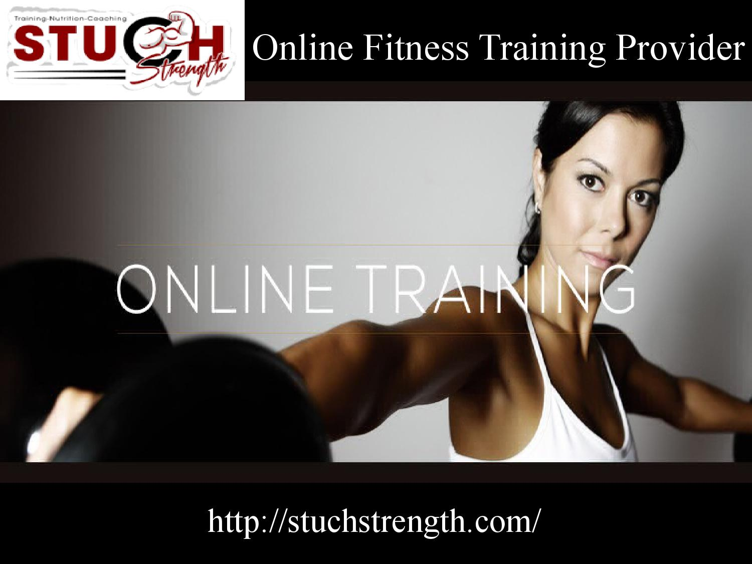 Online fitness training provider by stuchstrength - issuu
