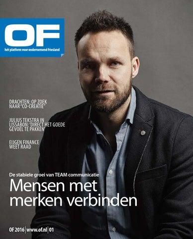 Ondernemend Friesland editie 1 februari 2016