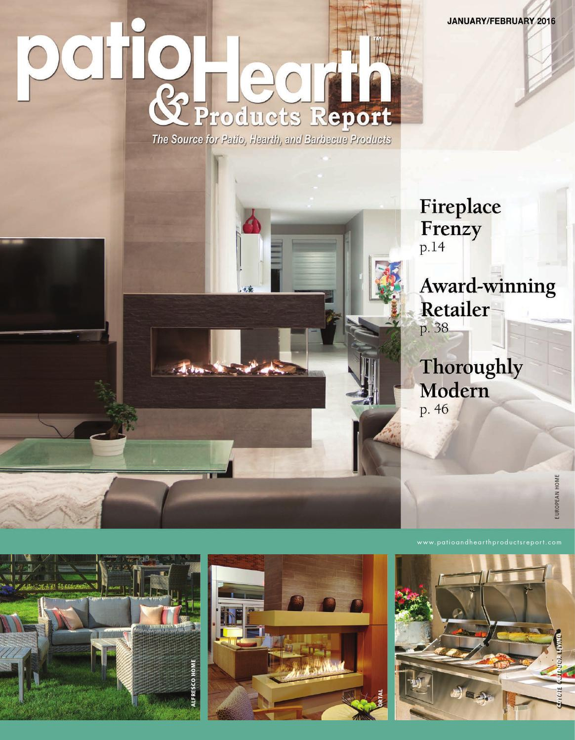 Patio And Hearth Products Report January February 2014 By . Absco Fireplace  ...