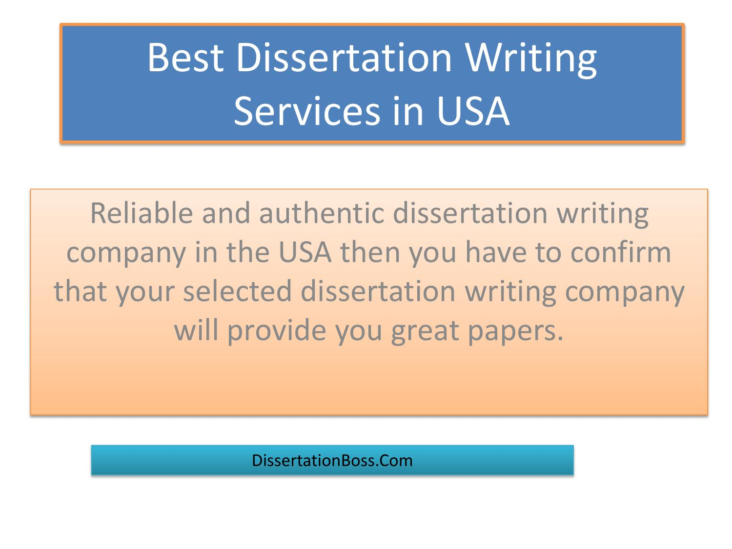 Why use a custom dissertation writing service?