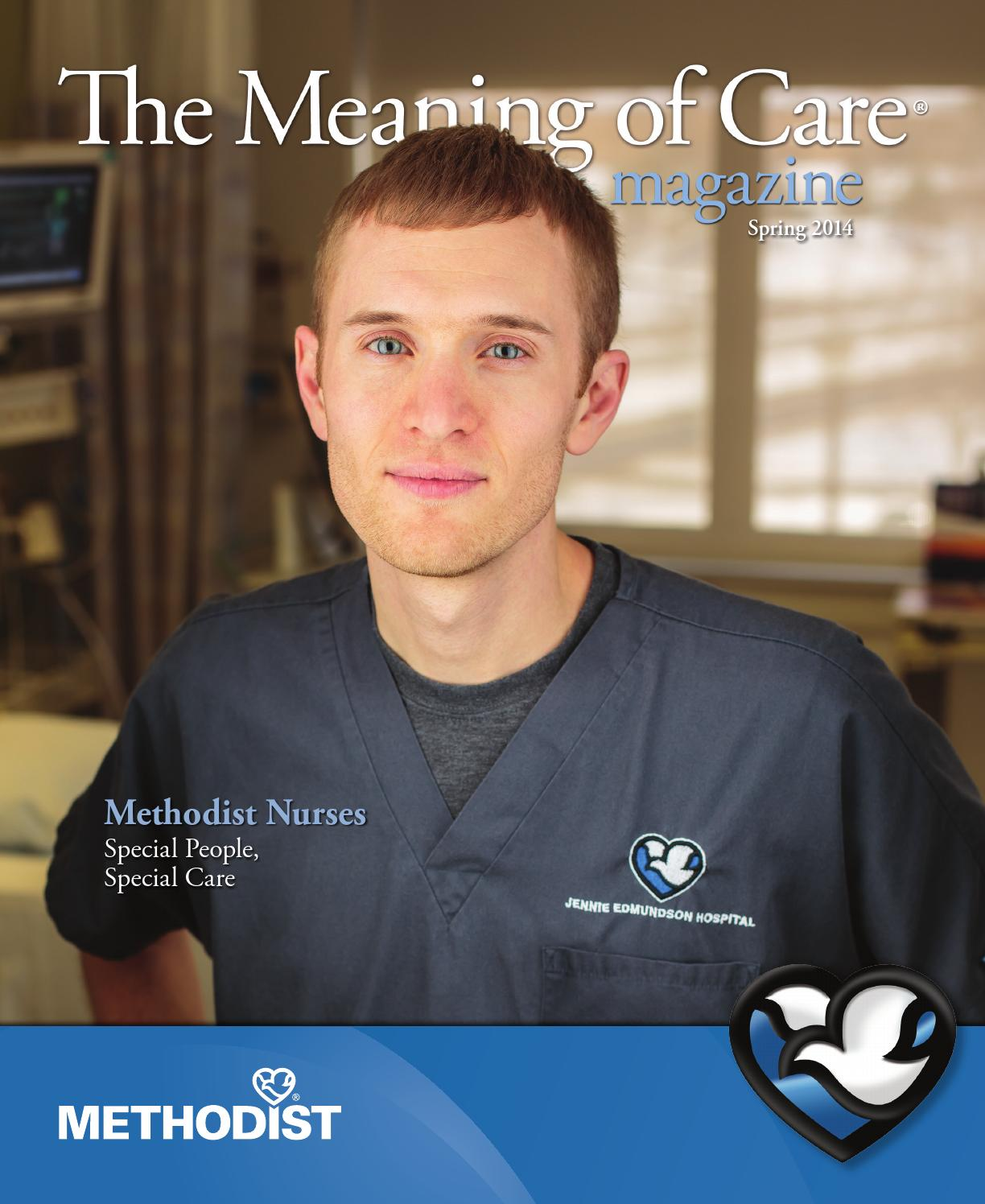 the meaning of care spring by nebraska methodist health the meaning of care spring 2014