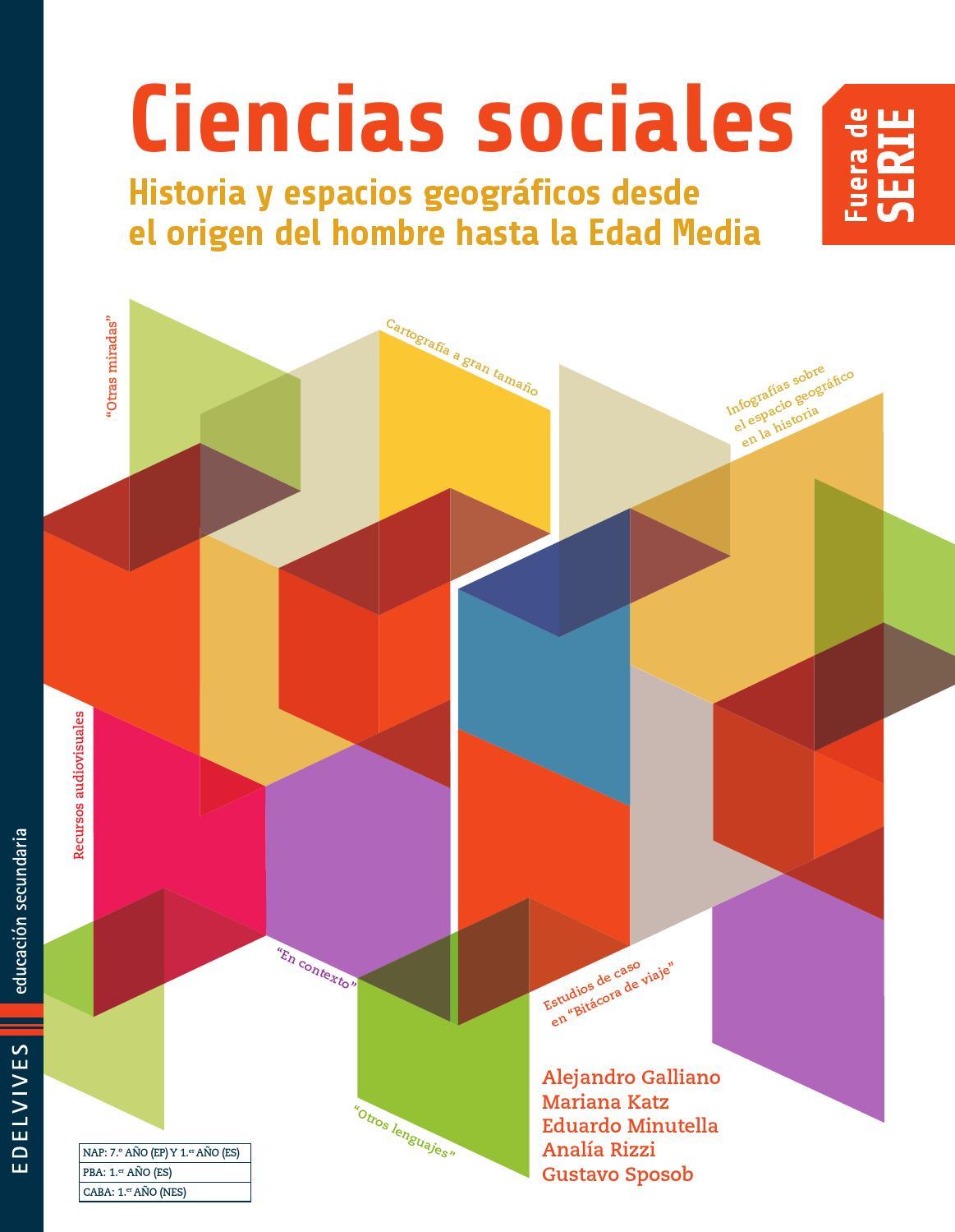 Edelvives ciencias sociales libro del alumno by for Fuera de serie libro