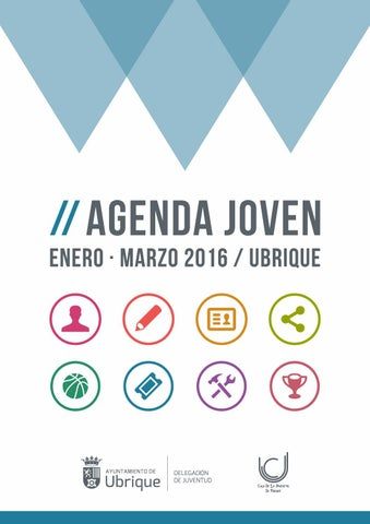Agenda Joven Casa de la Juventud de Ubrique (enero marzo 2016)