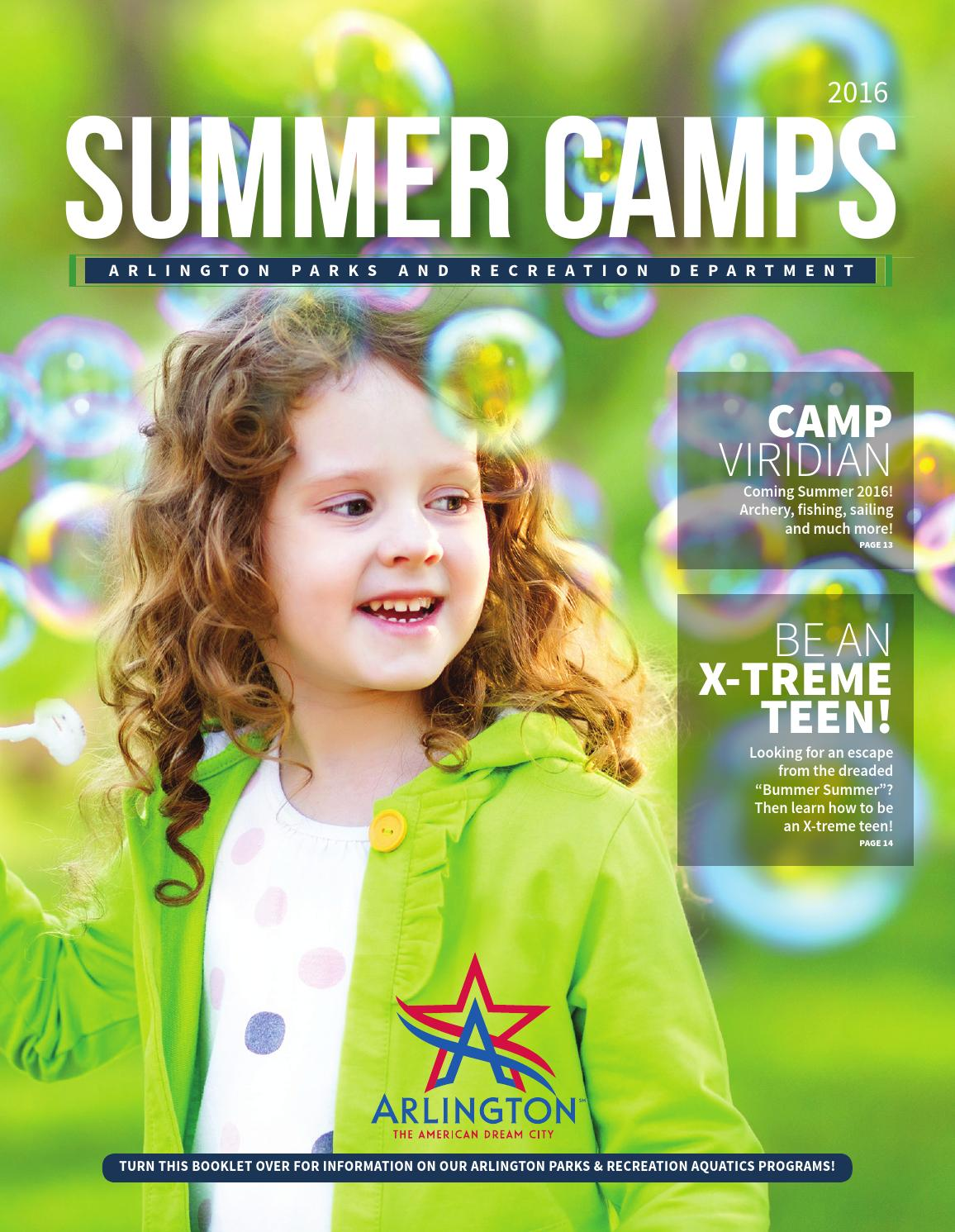 summer camp guide by arlington parks and recreation summer camp guide 2016 by arlington parks and recreation department issuu