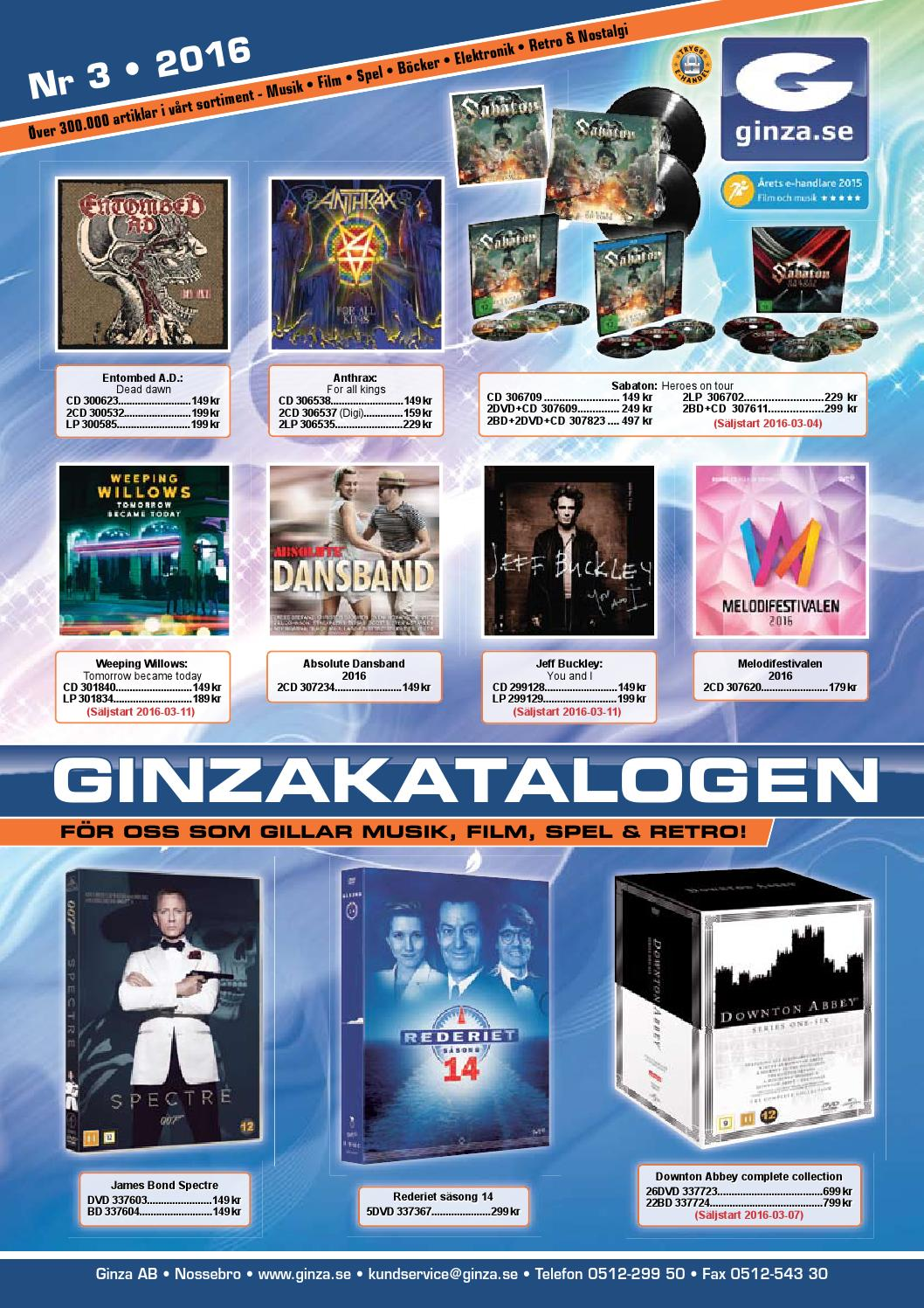 ginzakatalogen nr 8 2015 by ginza ab issuu