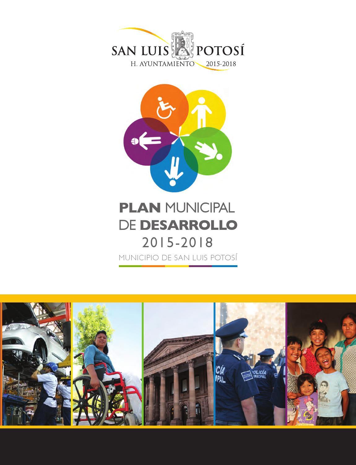 plan municipal de desarrollo 2015 2018 municipio de san