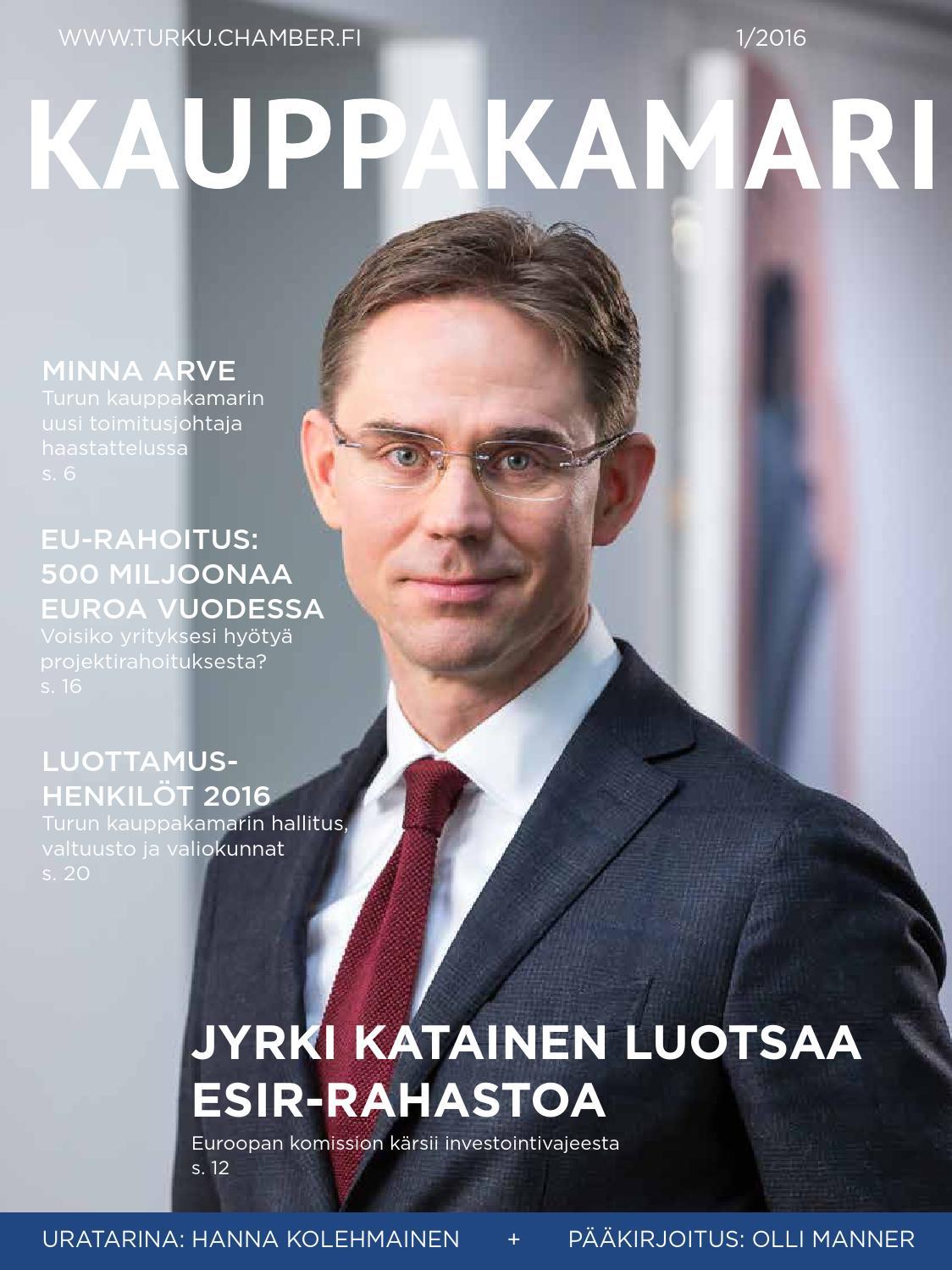 Turun kauppakamarilehti 1/2016 by Turun kauppakamari - issuu