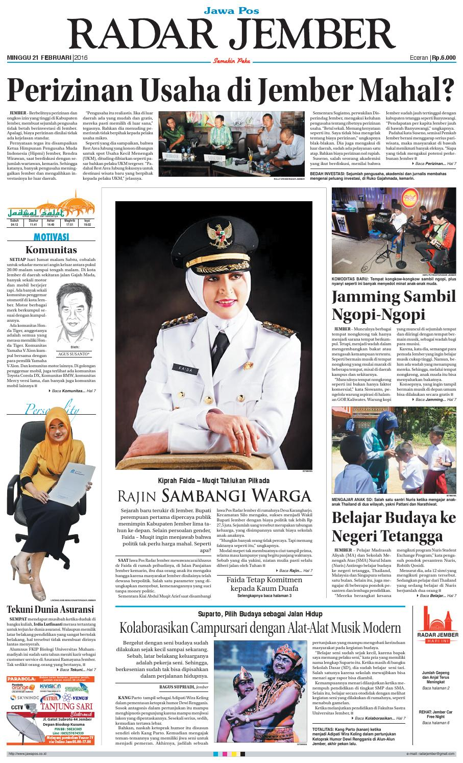 jember 210216 rj by radar jember online issuu