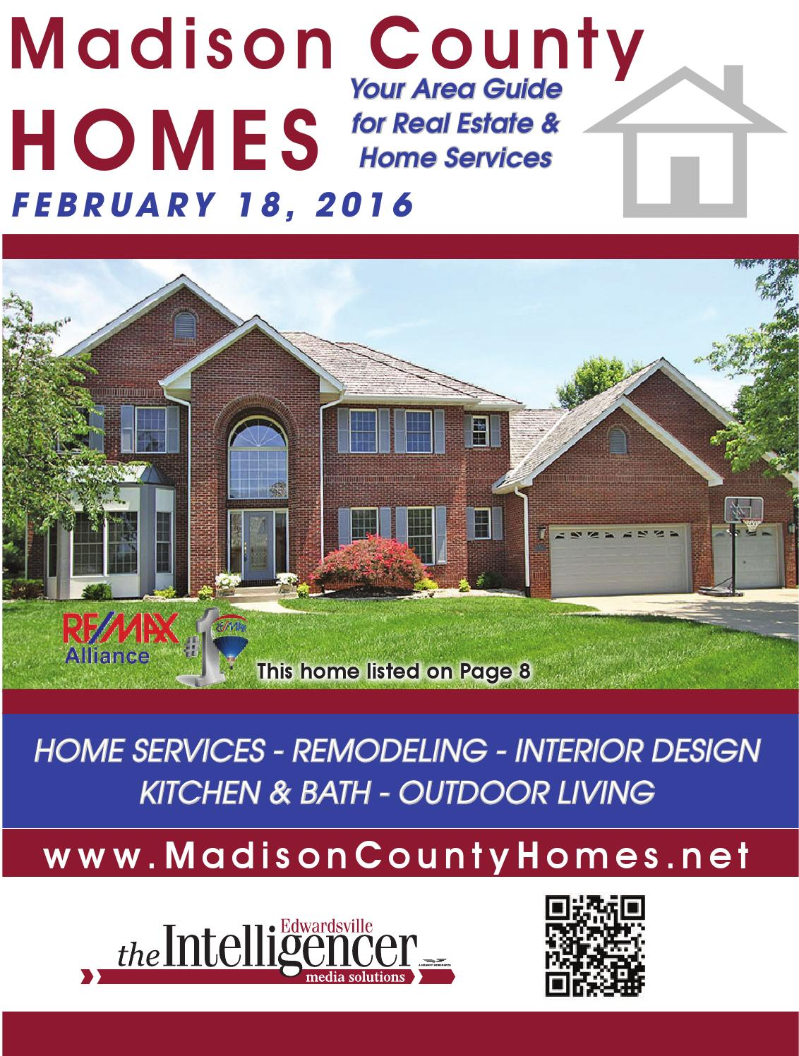 February 2016 Madison County Homes By Edwardsville