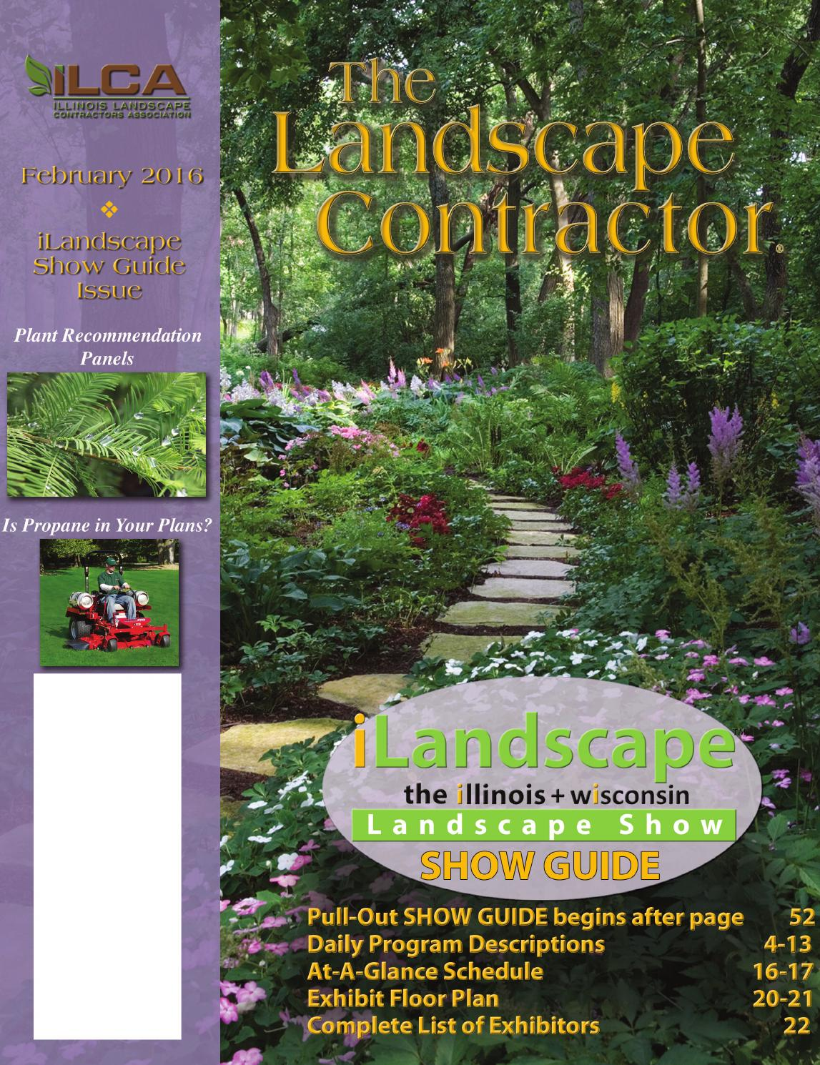 The Landscape Contractor Magazine FEB15 By Association