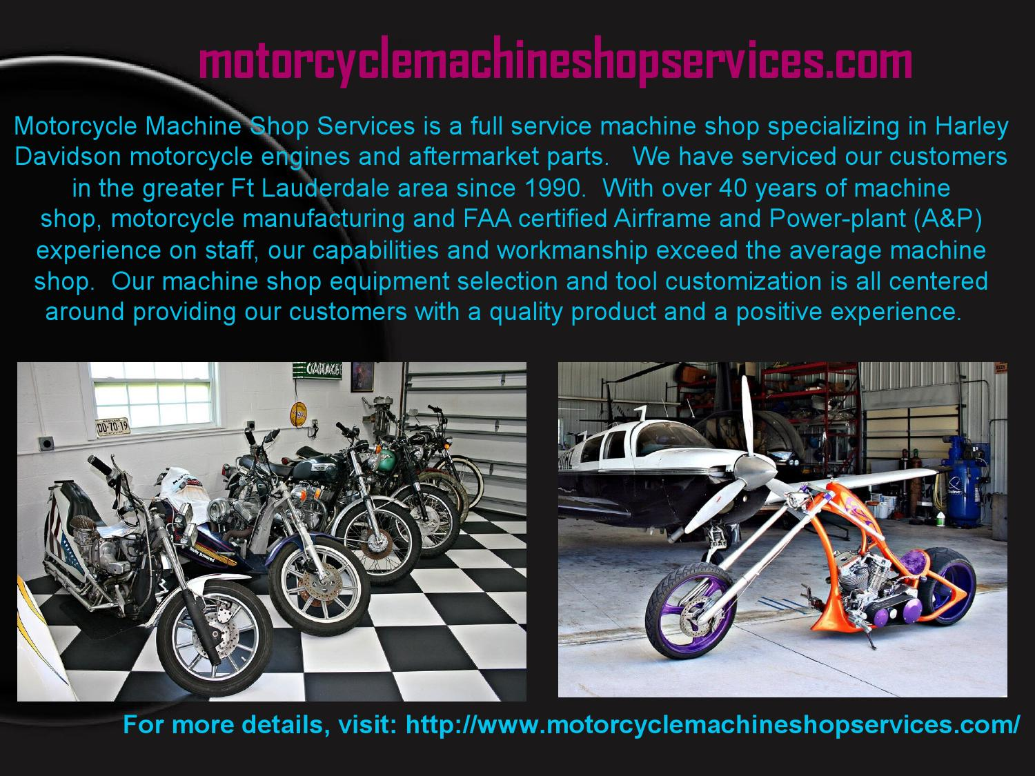 motorcycle engine machine shop