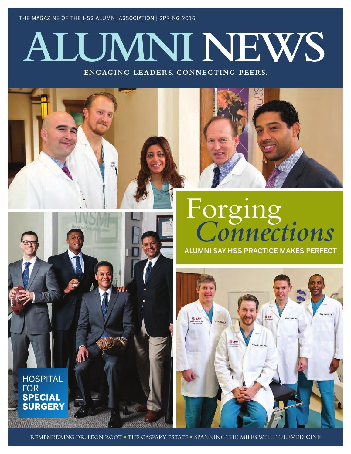 alumni news spring 2014 by hospital for special surgery issuu