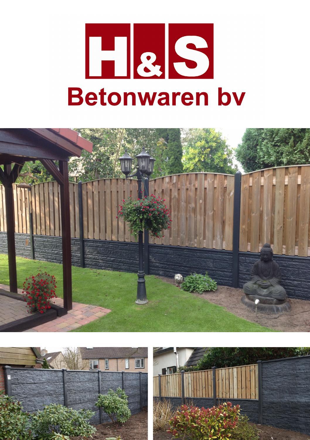 H&s betonwaren bv by hsbetonwaren   issuu