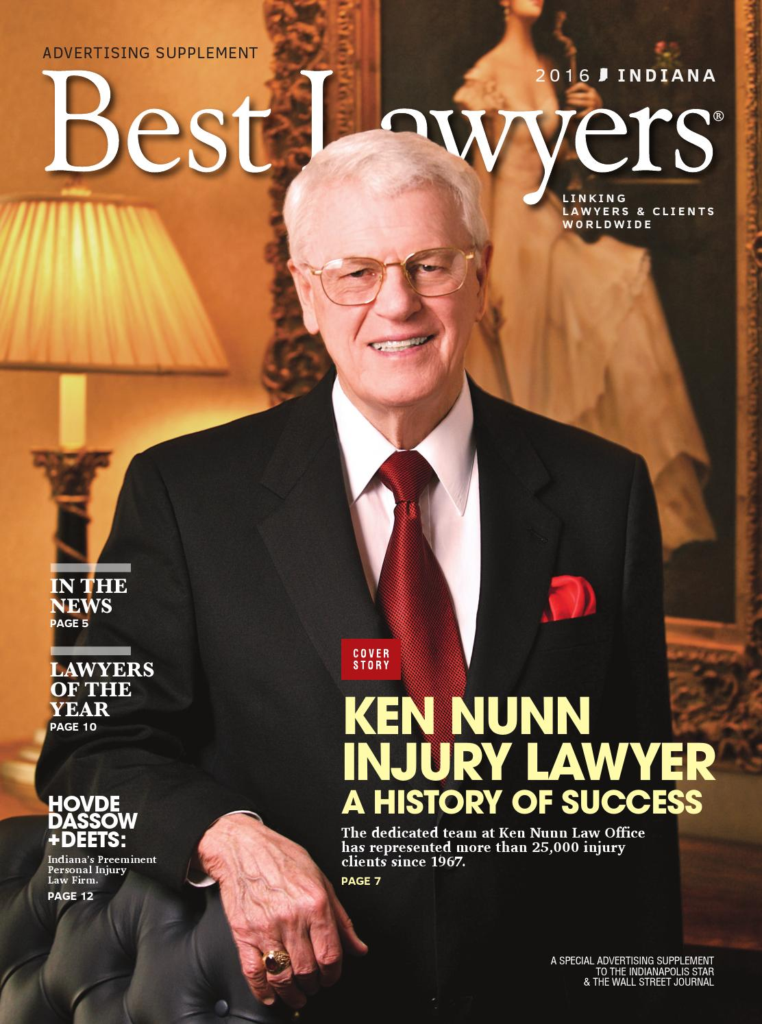Best Lawyers In Indiana 2016 By Best Lawyers Issuu