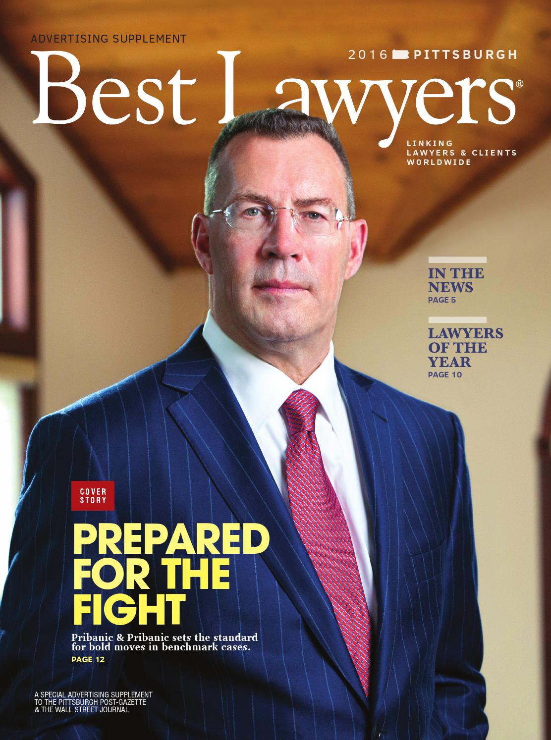Best Lawyers In Pittsburgh 2016 By Best Lawyers Issuu
