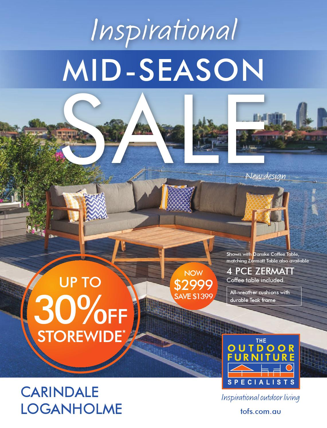 Mid Season Sale Carindale Loganholme By TOFS The