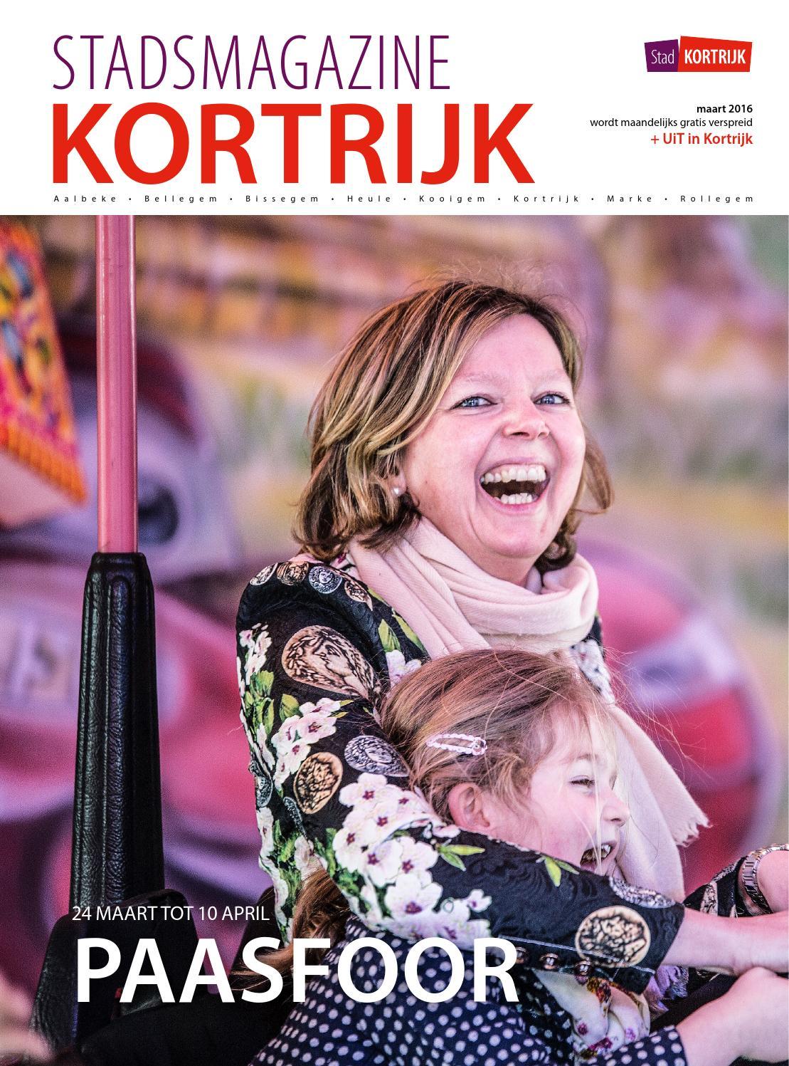 Stadsmagazine kortrijk maart 2016 by stad kortrijk   issuu