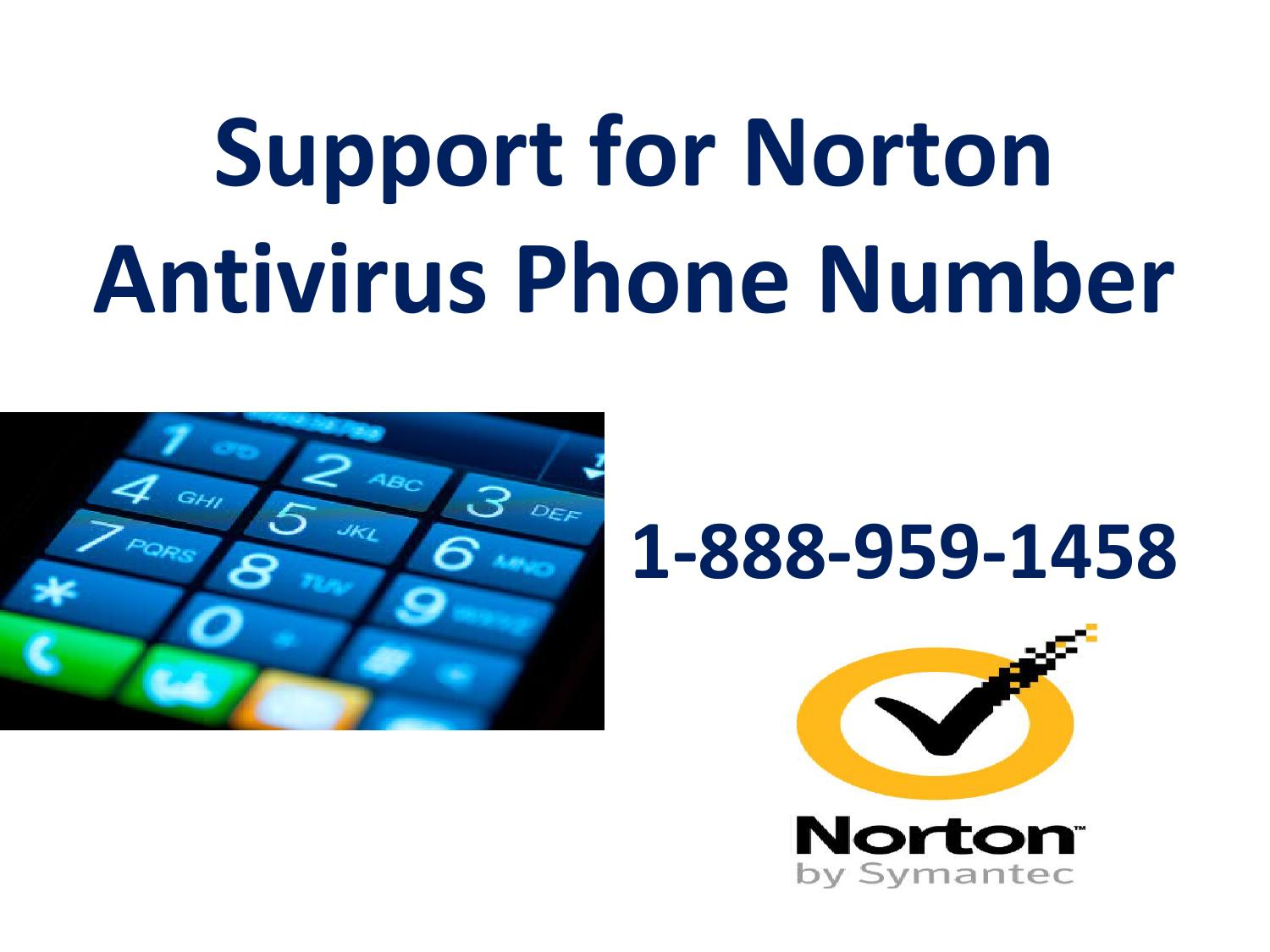 1 888 959 1458 Support For Norton Antivirus Phone Number