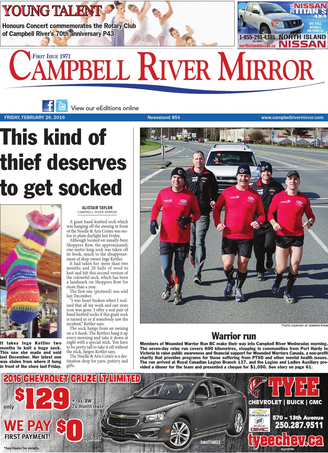 Nissan Campbell River >> Campbell River Mirror, February 26, 2016 by Black Press - issuu