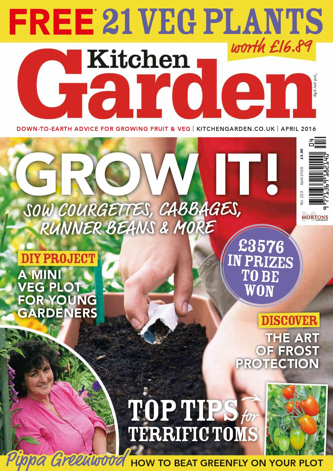 Kitchen Garden Magazine Hobbies Gardening By Issuu Staff Issuu