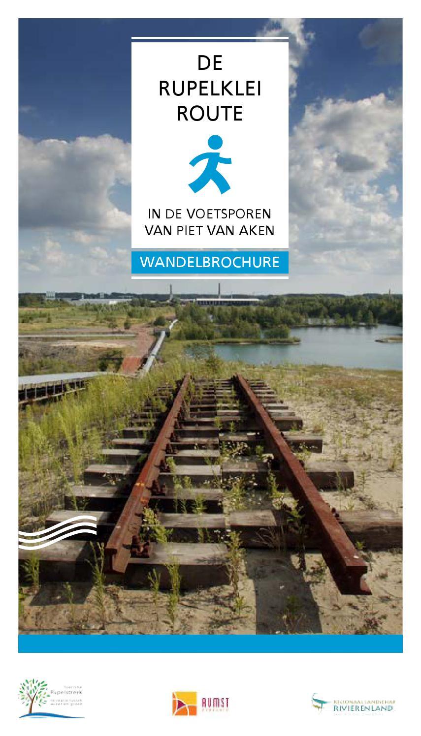 Wandelbrochure Klinkaartroute by Regionaal Landschap Rivierenland ...