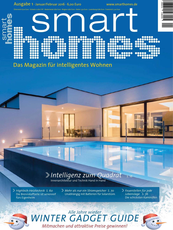 Smart homes 01 2016 by irene super issuu for Quadrat innenarchitektur
