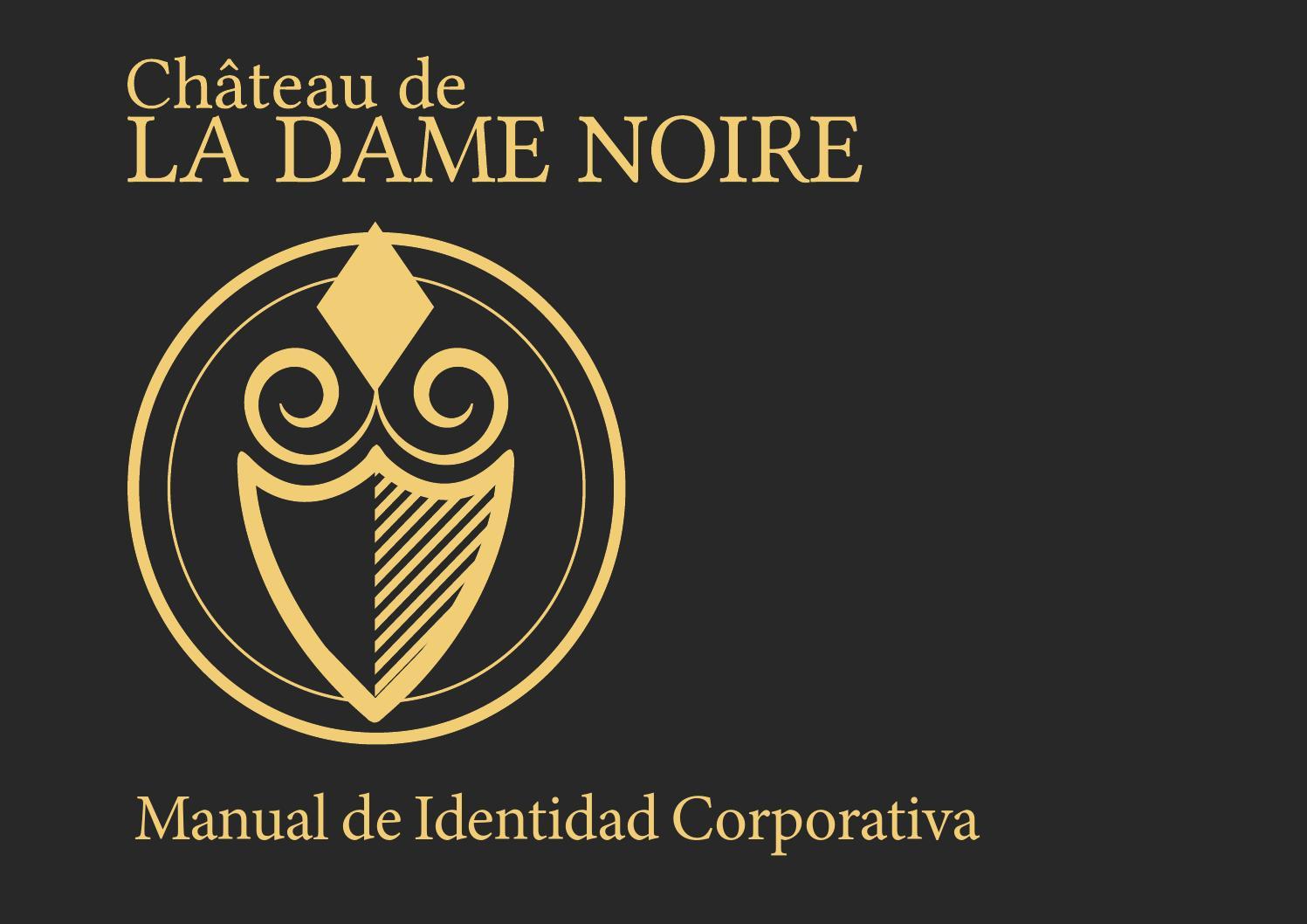 Manual de Identidad Corporativa Champagne Château de la Dame Noire