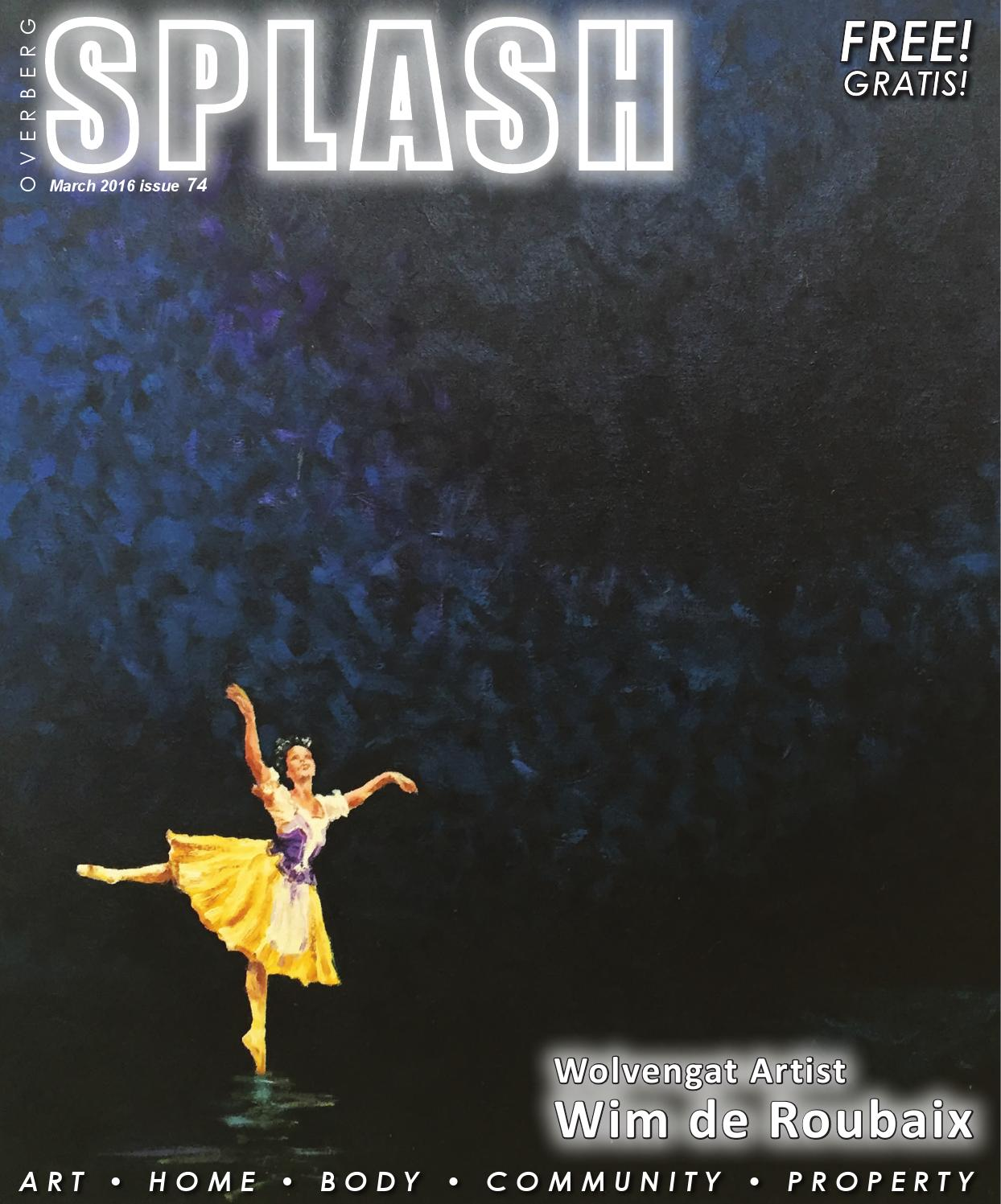 Splash Magazine Overberg - March 2016 by Splash Magazine - issuu