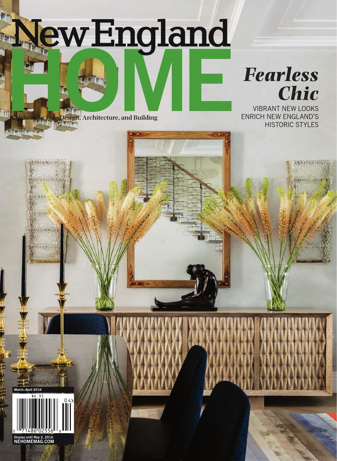 New England Home March April 2016 By New England Home
