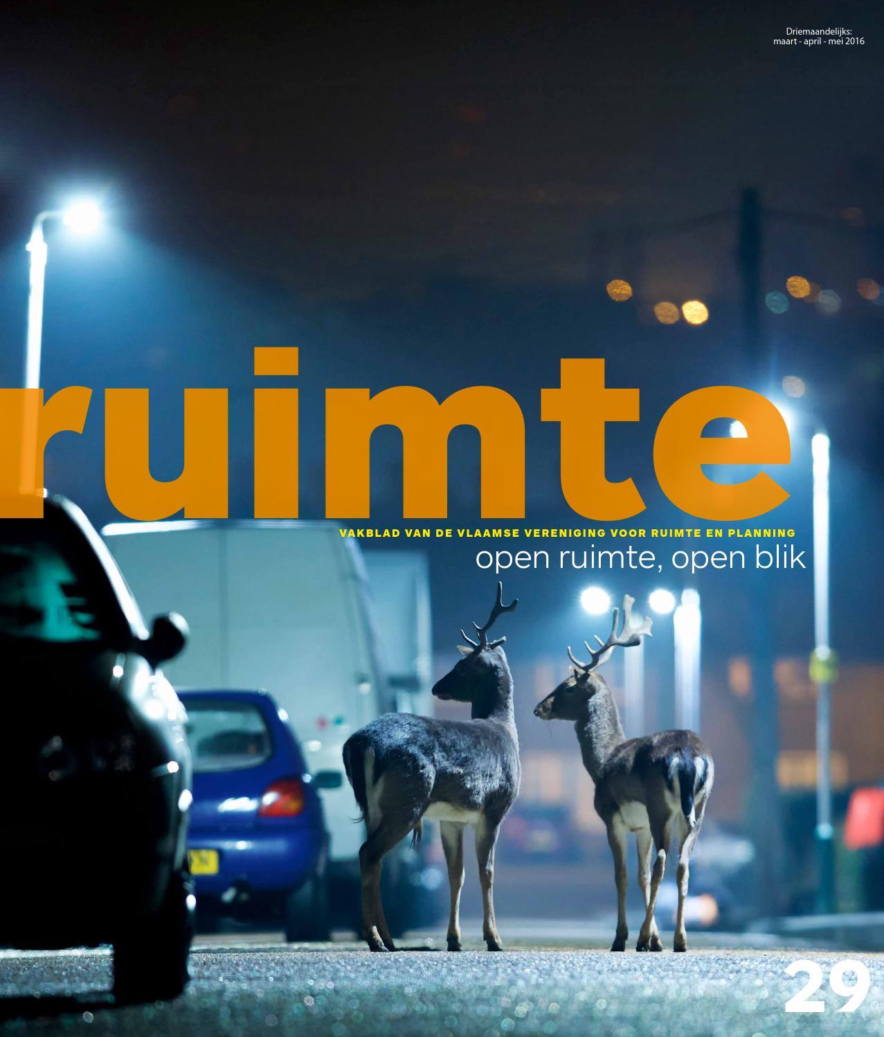 Ruimte#25 by Vlaamse Vereniging voor Ruimte en Planning - issuu