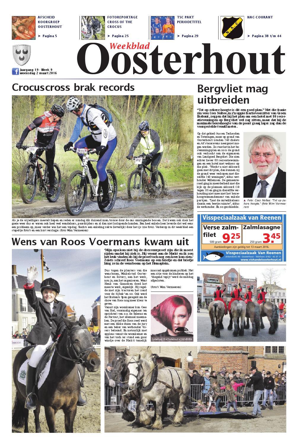 Weekblad Oosterhout 25-11-2015 by Uitgeverij Em de Jong - issuu