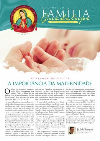 [Informativo Família Guadalupe – 2ª Edição]