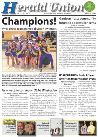 Herald Union, March 3, 2016