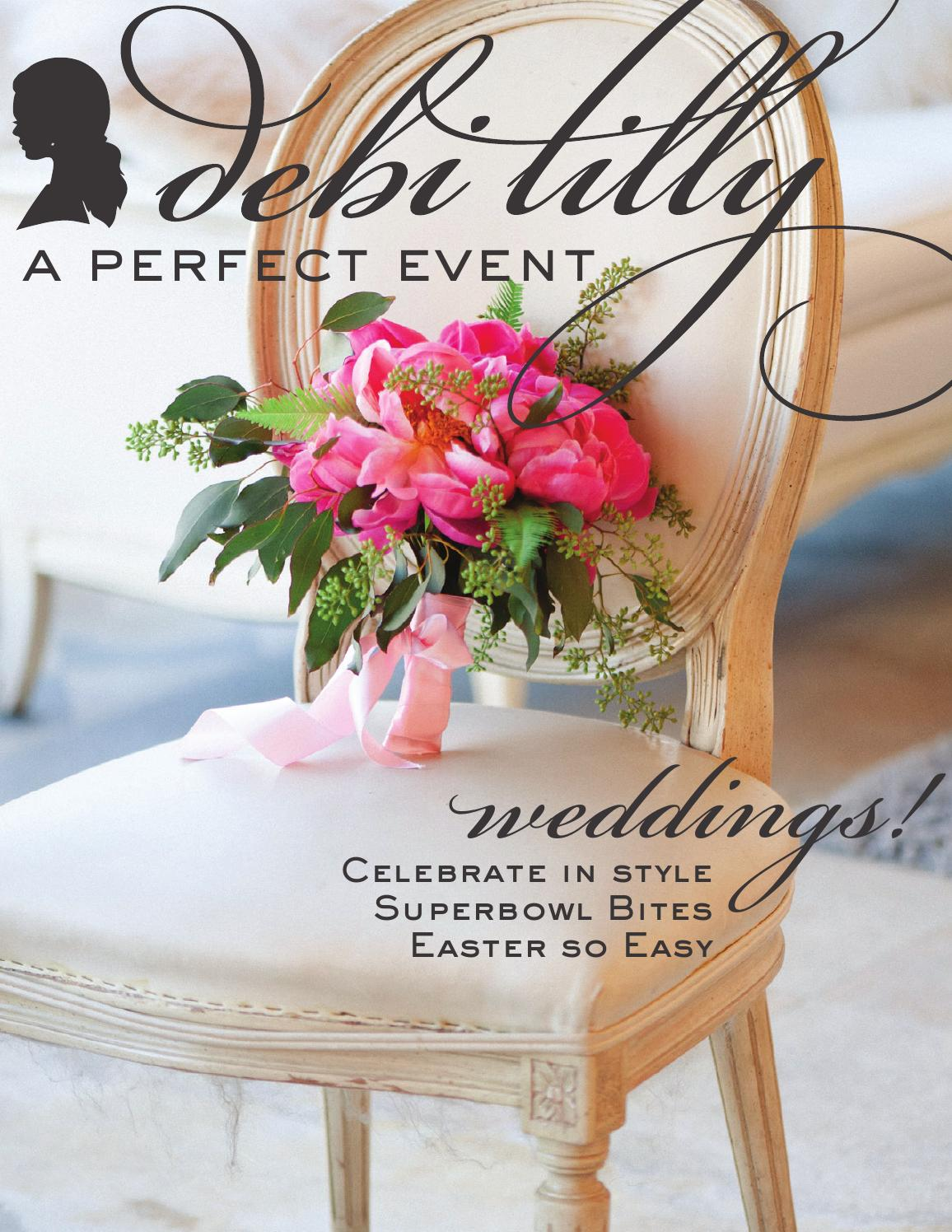 Debi Lilly A Perfect Event Winter 2016 By Debi Lilly A Perfect