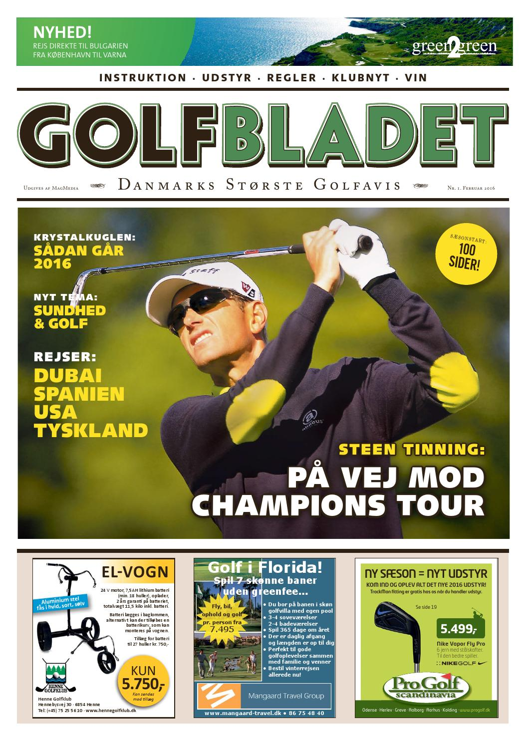 Golfbladet december 2015 by morten buckhøj   issuu
