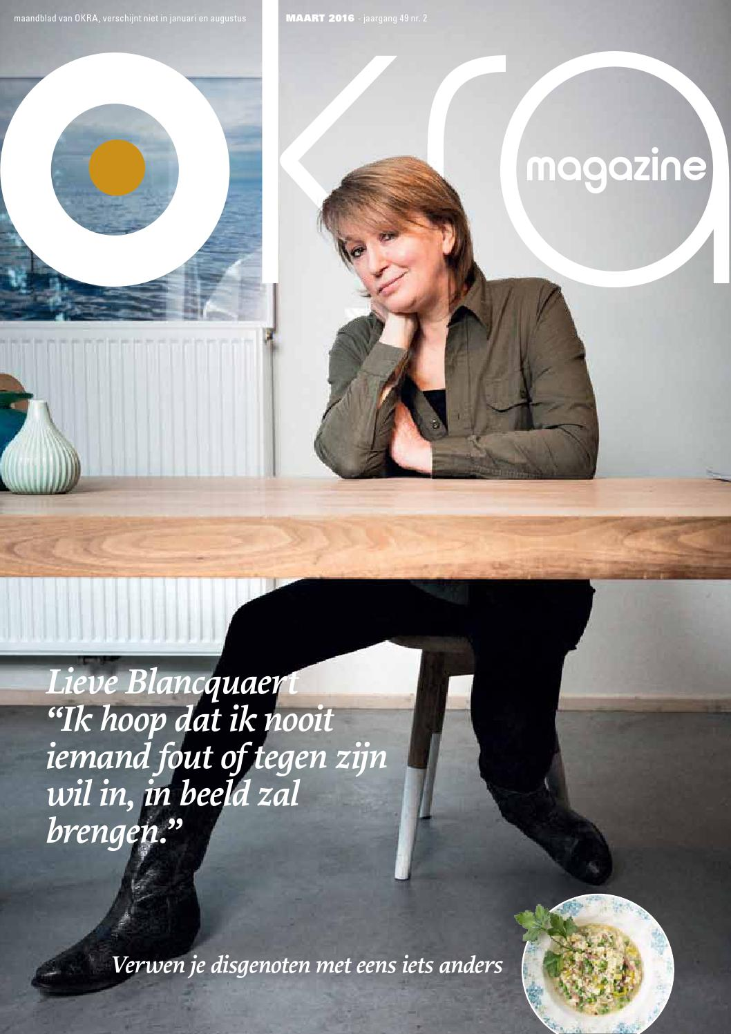 OKRA-magazine Maart 2016 by OKRA - issuu