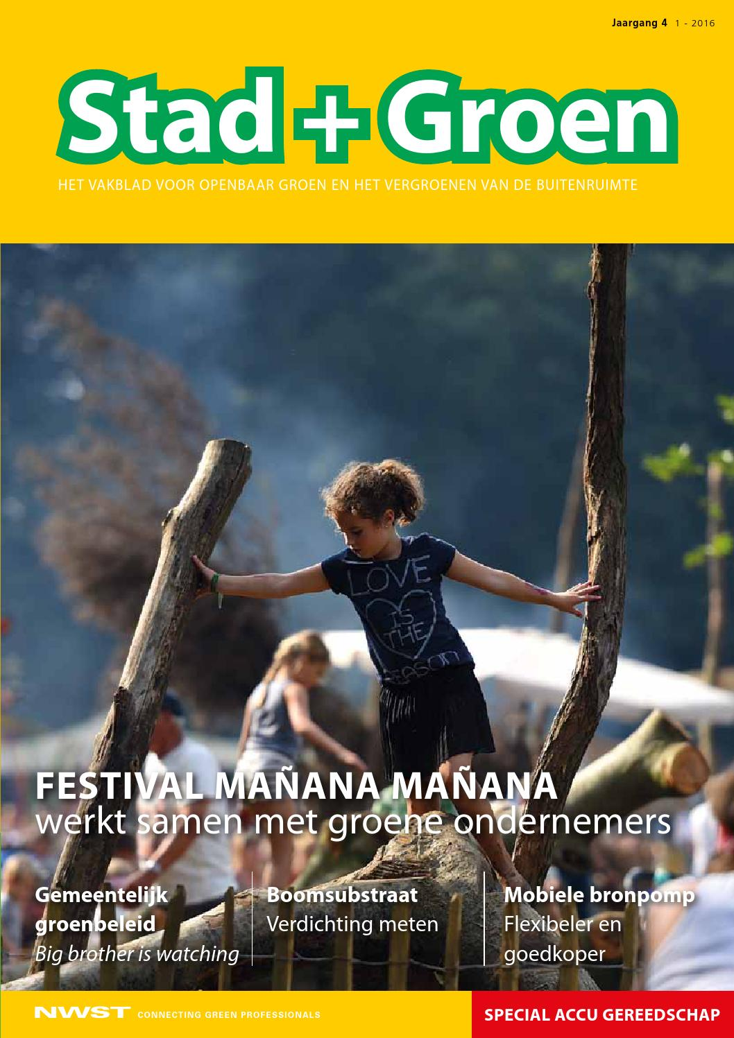 Stad en groen 5 2016 by nwst newstories   issuu