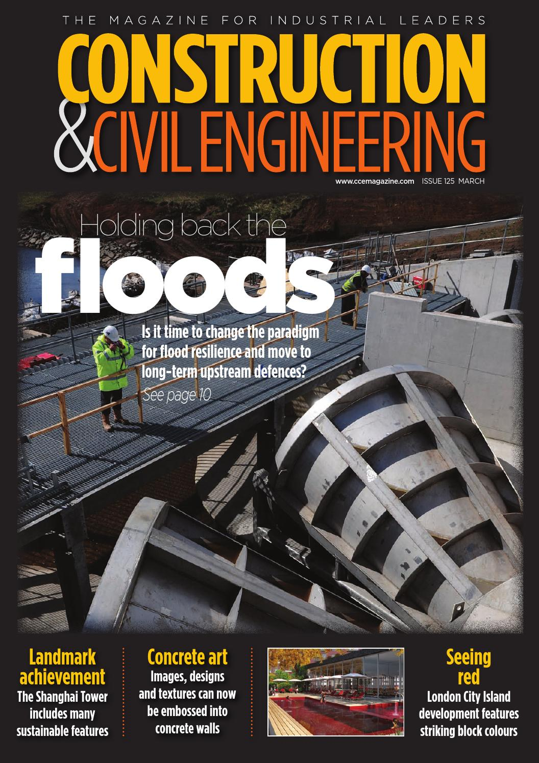 Morgan Thermal Ceramics Construction Amp Civil Engineering Issue 127 May 2016 By Schofield