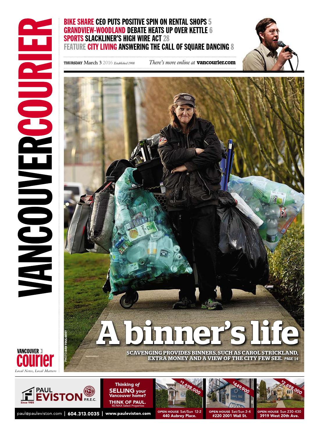 Vancouver Courier January 7 2016 By Vancouver Courier Issuu