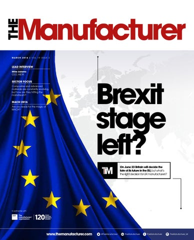 The Manufacturer March 2016