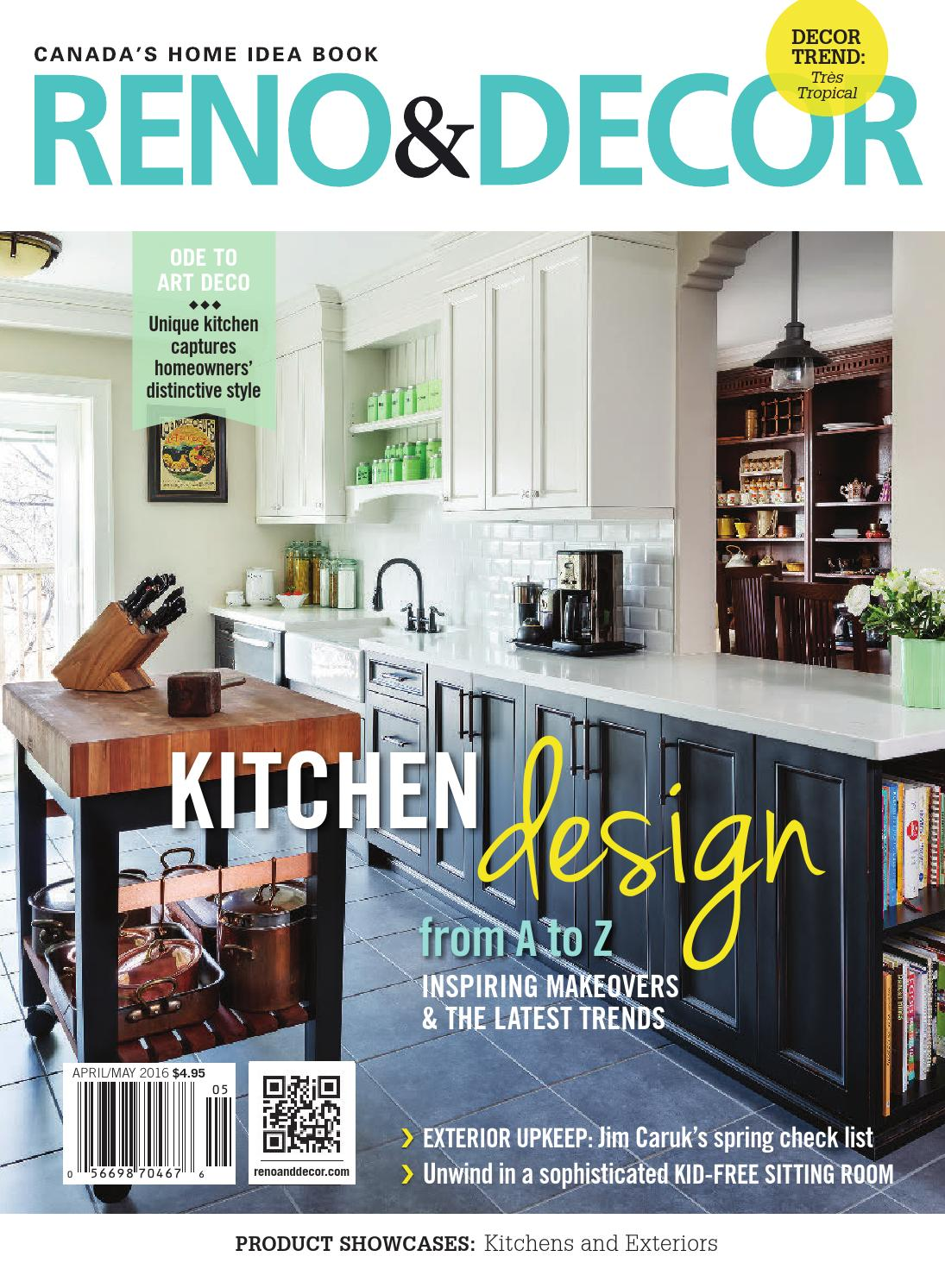 Reno decor magazine apr may 2016 by homes publishing for Free home magazines