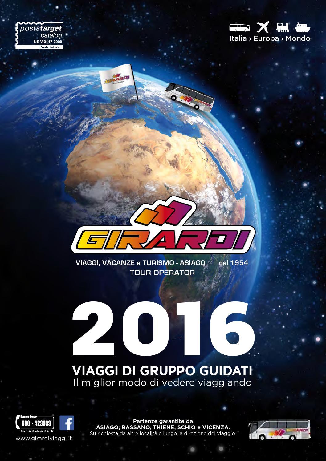 girardi viaggi 2016 by girardi viaggi issuu