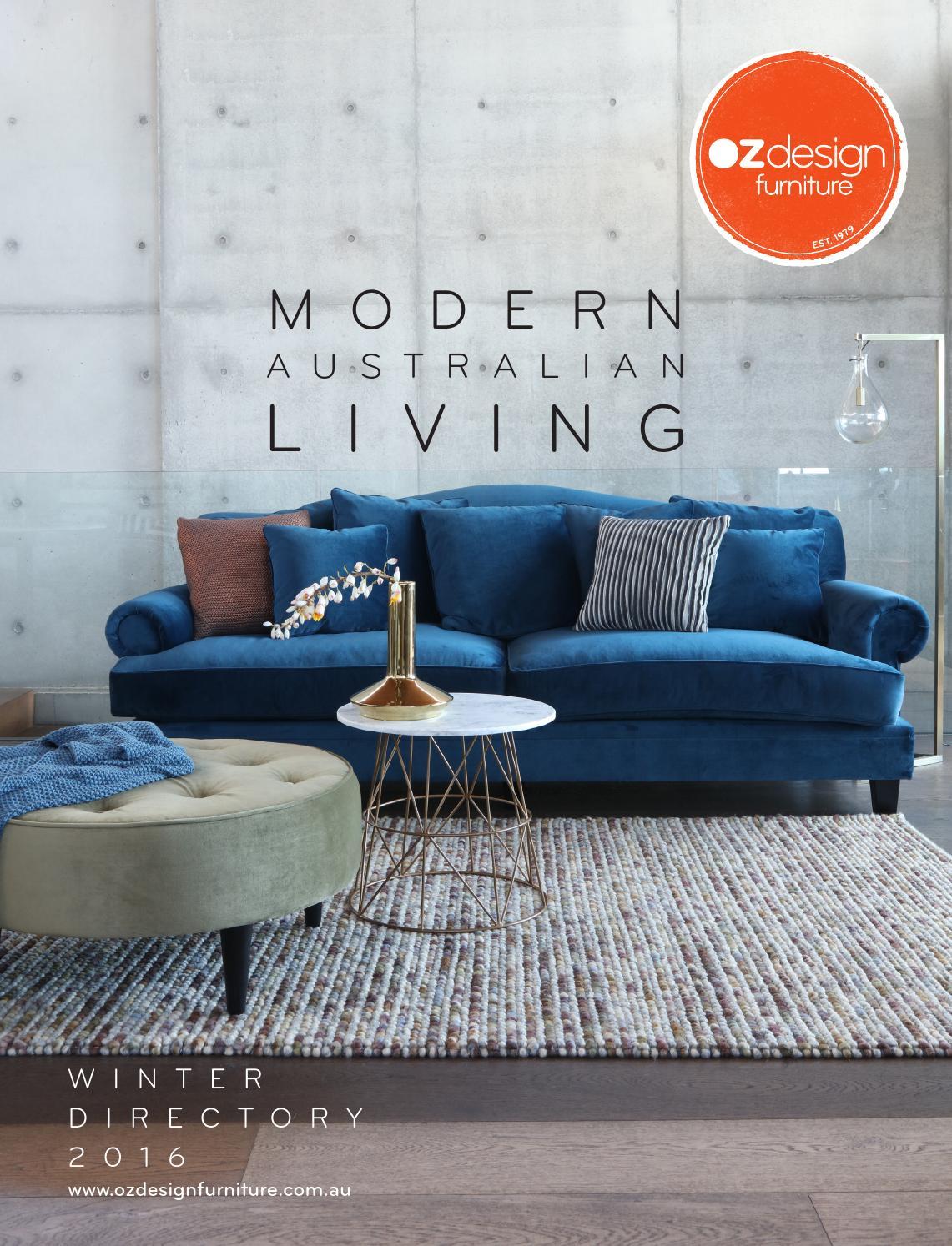 Modern Australian Living Oz Design Furniture Winter 16