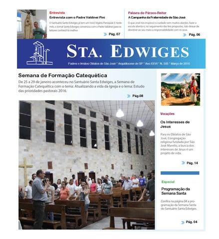 [Jornal Sta Edwiges (Março/2016)]