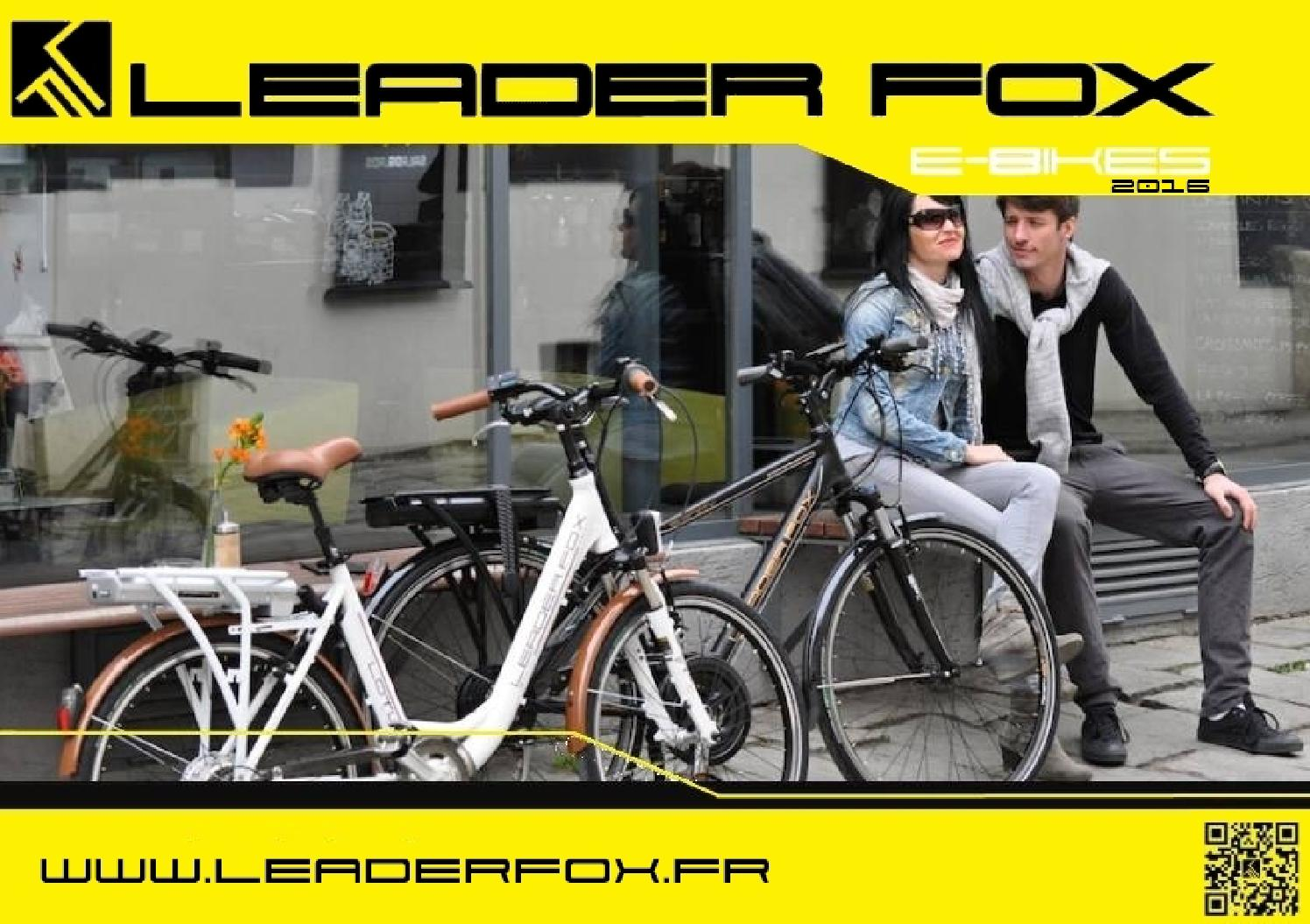 Catalogue e bikes vae leaderfox 2016 by veloeco issuu - Catalogue 3 suisses 2016 ...