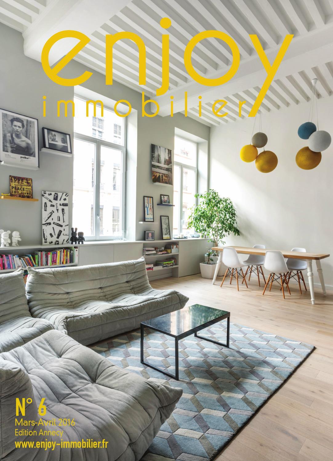 enjoy immobilier annecy n mars avril 2016 by enjoy media issuu. Black Bedroom Furniture Sets. Home Design Ideas
